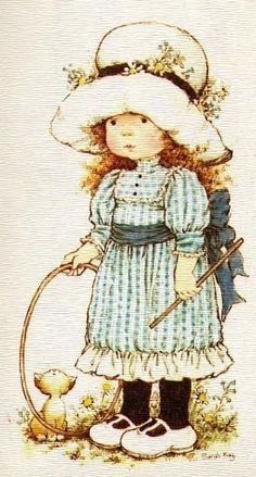 Menina com chapéu Branco