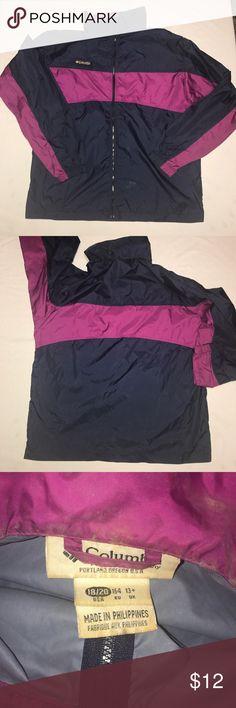 Vintage Columbia windbreaker Women's size 18/20 vintage cool 90s colors Columbia Jackets & Coats Puffers