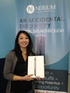 Congrats Sally, on earning your Ipad from Nerium! You can win one too! http://Rosemary.aRealBreakthrough.com
