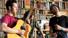 Patrick Watson - NPR Music Tiny Desk Concert. The more I explore and listen to this guys music the more in music love I fall. He and his music mates are amazing