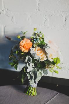 Modern Brooklyn Wedding Shot by Chaz Cruz Day of Coordinator - Jove Meyer Events Flowers - Sprout Home Venue - 501 Union