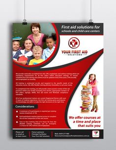 Design a Flyer for First Aid Solutions by WebMorron