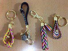 kumihimo key rings!