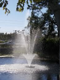 Floating pond fountain/ aerator suppliers. Also sell light kits!
