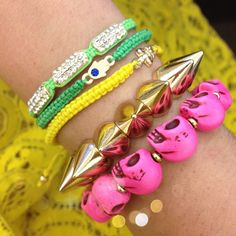 \\\ how amaze is @lifeonthesqs's mixed up #armparty!? #showusyoursparkle \\\