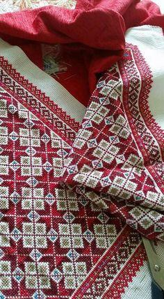 تطريز فلسطيني Cross stitch Palestenian Embroidery Cute Cross Stitch, Cross Stitch Borders, Cross Stitch Designs, Cross Stitching, Cross Stitch Patterns, Hand Embroidery Designs, Beaded Embroidery, Cross Stitch Embroidery, Embroidery Patterns