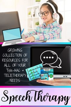 I have started this growing collection of materials and resources to help you find the perfect fit for you and your students. Teletherapy and Tele-AAC can be applied for intervention, assessment, consultation, training and other speech-language related services. Do not be afraid to ask questions and make connections with other SLPs that have experience conducting telehealth interventions. The Speech Therapy Community is strong and supportive! #teletherapy #telespeech #teleAAC #speechtherapy
