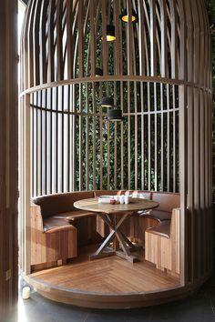 Large scale design - printed Lane Restaurant 4