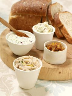 Reinvent your sandwich routine with these four out-of-the-ordinary spreads.