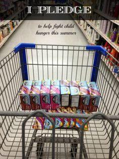 I PLEDGE - to help fight child hunger this summer #cbias #Odwalla4kids