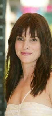 Sandra Bullock when she had bangs :-)