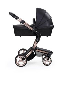 the rose gold Xari Stroller by Mima Int.