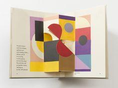 // art pop up Book, Madame Sonia Delaunay, 2015 Buch Design, Design Art, Graphic Design, Layout Design, Sonia Delaunay, Up Book, Book Art, Up Imagenes, Pop Up Art