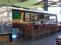 Airstream bar in Oxnard Whole Foods Market.