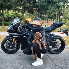 #yamaha #black #motorcycles #r6