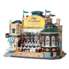 Lemax christmas village | Lemax Olde Fashioned Chocolate Co