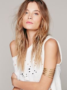 Free People Metal Upper Armband at Free People Clothing Boutique
