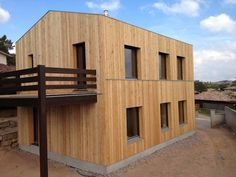 Larixhaus: straw bale and timber passive house