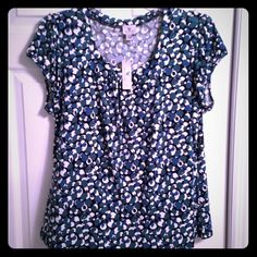 NWT Worthington Shirt Brand new with tags! Super comfortable and cute! Worthington Tops