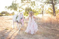 A girl and her pony by Sandra Boos Photography