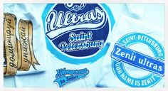 Zenit ultras Handpainted t-shirts