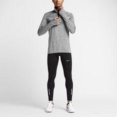Nike Dri-FIT Knit Half-Zip Men's Running Shirt. Nike.com
