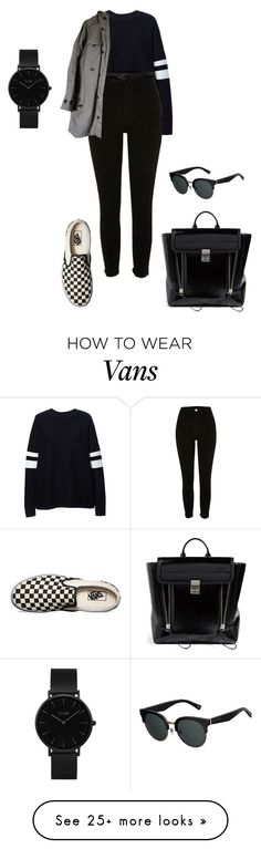 """"" by lena1612 on Polyvore featuring Zara, River Island, Lowie, Vans, 3.1 Phillip Lim, CLUSE and Marc Jacobs"