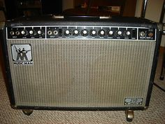 FENDER DESIGNED MUSICMAN AMPLIFIER. POST FENDER, PRE G VINTAGE