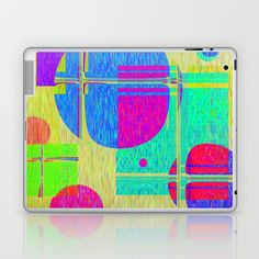 Re-Created  Building Blocks I  Laptop & iPad Skin by Robert S. Lee - $25.00