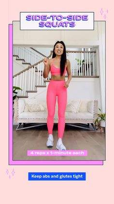 Fitness Workout For Women, Fitness Tips, Health Fitness, Butt Workout, Gym Workouts, At Home Workouts, Flexibility Workout, Workout Challenge, Get In Shape