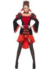 Fever Boudoir Vampieren Dames Halloween Kostuum
