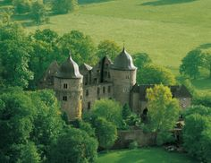 The Dornröschenschloss Sababurg, the ›Sleeping Beauty‹ castle  of Brothers Grimm fairy tales