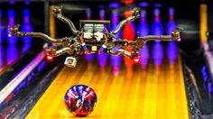 Watch a drone perform amazing sports trick shots in basketball, golf, bowling and more!