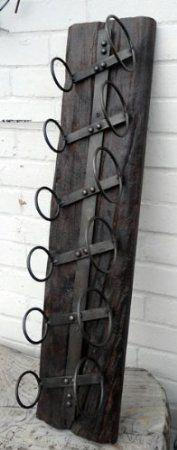 Driftwood Style Wine Rack.