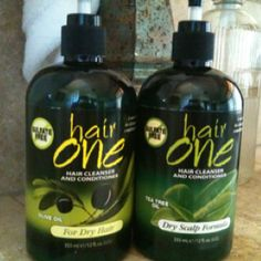 If you have ever considered buying WEN hair cleanser try this first basically the same except less expensive about $10 at Sally's They have 4 different types I started using the tea tree and the olive oil. I noticed a huge difference the first time I used it. I ❤ it .  Hair One -Amanda