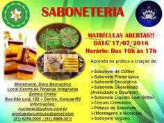 Aromas do Cumbuco: SABONETERIA - VAGAS LIMITADAS!