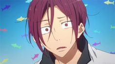 Rin from Free!  Why am I laughing so hard it's not even that funny