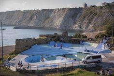 La Kantera Skatepark part of Volcom BOWL-A-RAMA™ Getxo 2014.