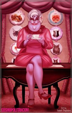 """If Disney Princesses Went to Hogwarts - And in conclusion, Ursula """"Dolores"""" Umbridge is the best/worst."""