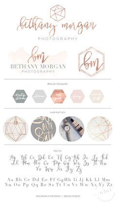 Pre made branding kits are the perfect solution to polish your brand professionally, at a super affordable price! The are perfect for photographers, interior designs, event & wedding planners, small business and boutiques, makeup artists, bloggers and more. ❥❥❥❥ WHAT IS INCLUDED IN THE PRICE ❥❥❥❥ • Update the design with your/business name • Colour change • Font change isnt included in the listing ❥❥❥❥ CHOOSE YOUR PACKAGE ❥❥❥❥ LOGO ONLY..... {top logo on board, unless otherwise req...