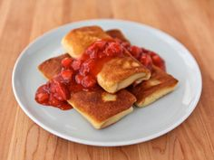 Cheese Blintzes - How to Make Perfect Blintzes... Ricotta and cream cheese filling