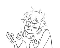Homestuck Reaction Gifs. When you're too angry and so frustrated that you don't even know. A facepalm seems appropriate for these situations.