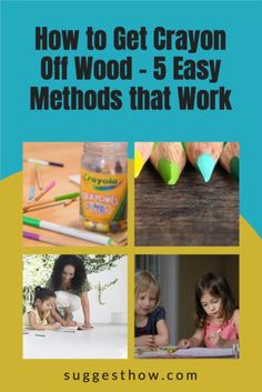 Know the right way of how to get crayon off wood without harming the wood finish. Wood can become a canvas for your kid's or guest's creativity. Remove crayon easily from your wood walls, wood furniture, or wood floors. #homehacks #cleaning #DIY #home Cleaning Diy, Deep Cleaning Tips, Household Cleaning Tips, Cleaning Walls, Bathroom Cleaning, Unfinished Wood Floors, Wood Laminate Flooring, Task To Do, Towel Wrap