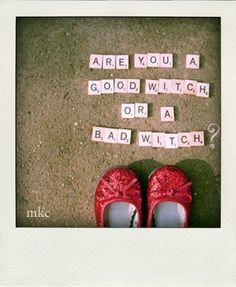 Good or Bad  Red Ruby Slippers 8x10 Original by mkcphotography, $35.00