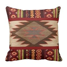 Decorative Square Pillow Case 18X18 Inches South Western Western Geometric Print Pillow Cover Cushion Cover http://www.amazon.com/dp/B01A57DDGA/ref=cm_sw_r_pi_dp_nZ.Kwb0EJ25SE