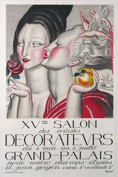 XVe SALON des ARTISTES DECORATEURS au GRAND PALAIS  (1924)