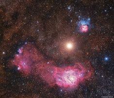 Mars Between Nebulas