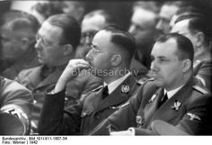 Heinrich Himmler and Martin Bormann