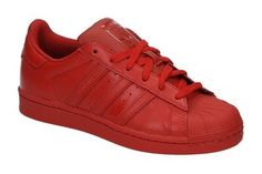 Adidas SUPERSTAR SUPERCOLOR rode lage http://www.sooco.nl/adidas-superstar-supercolo-rode-lage-sneakers-21190.html