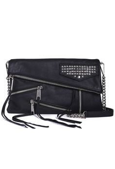 Rebecca Minkoff Harper Crossbody Bag with Studs in Black | Emporium DNA www.emporiumdna.com